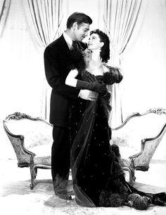 This is not featured in the movie, but it's an incredible photo. Rhett Butler & Scarlett O'Hara