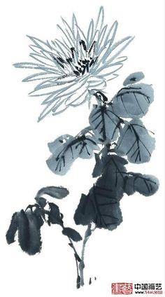 中国国学网-- 国画菊花欣赏