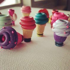 Cute cupcake drip tips #VaporHub [ Vapor-Hub.com ]