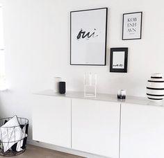Scandinavian Living Room: Kähler Omaggio Vase, Lyngby Vase, By Lassen Kubus Candle Holder, Ikea Friheten Sofa, Ma Maison Blanche Oui Picture