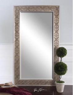 Great deals on Uttermost villata antique silver mirrors, rustic wall decor and king size beds. Shop Outrageous Interiors and find modern furniture small spaces for your home. Leaning Floor Mirror, Full Length Floor Mirror, Floor Mirrors, Wall Mirrors, Foyer Mirror, Uttermost Mirrors, Bliss Home And Design, Leaner Mirror, Antique Frames
