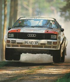 Audi S-1 if im not mistaken. Possibly a UR-Quattro.