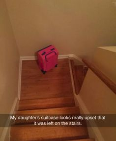 The saddest little luggage: