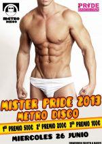 """¿Crees que tienes un cuerpo de escándalo? Ven a demostrarlo a Metro Disco participando en el concurso anual """"Mr Pride"""". ¡Diversión asegurada! (pineado por @TuPlanC)"""