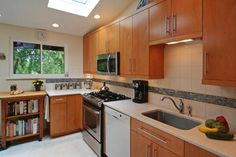 Mid-Century Modern Ranch Kitchen Remodel - contemporary - kitchen - st louis - Mosby Building Arts hardware