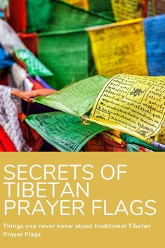 Have you ever wondered what the text and images mean on your prayer flags? Do you know the best time to put your flags up? What about when they're 'finished' - what's the correct way to dispose of them? We have you covered in our new blog post, so dig in! Image Meaning, Prayer Flags, News Blog, The Secret, Texts, Meant To Be, Prayers, Told You So, Learning