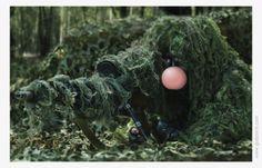 Bubble gum ad idea.