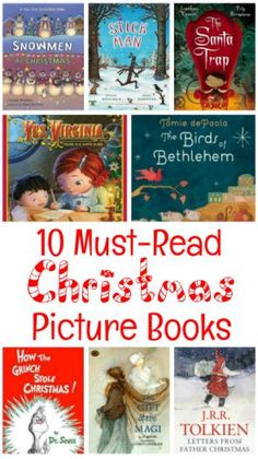 10 Incredible Picture Books to Read at Christmas 10 Must-Read Christmas Picture Books Christmas Books, Kids Christmas, Christmas Crafts, Christmas Bingo, Preschool Christmas, Christmas Activities, Simple Christmas, Christmas Traditions, Christmas Ornament