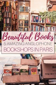 5 Best English Language Bookstores in Paris, France. Bookshops selling novels, tomes, vintage, rare and used books etc specialising in Anglophone works. Paris Travel, France Travel, Travel Europe, Complete Works Of Shakespeare, Literary Travel, European Travel, English Language, Short Stories, Trip Planning