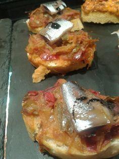 Piperrada y sardina