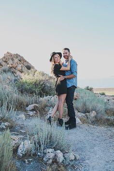 Summer Taylor Photography » Utah Wedding Photographer, fall engagments, antelope island
