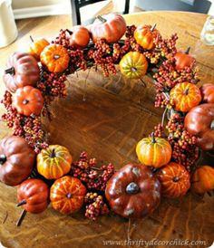 A great wreath for Fall