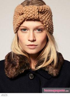 bow #headband #knit