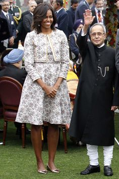 Michelle Obama Goes to India  - TownandCountryMag.com