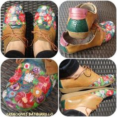 Renueva tus zapatos con pintura