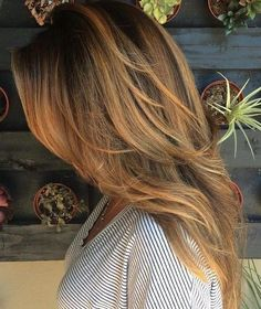 balayage for long layers + long hairstyles