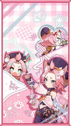 Cute Desktop Wallpaper, Cute Pastel Wallpaper, Cute Anime Wallpaper, Cute Wallpapers, Kawaii Art, Kawaii Anime, Themes App, Creepy Facts, Cute App
