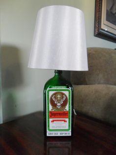 Jagermeister Bar Bottle Lamp