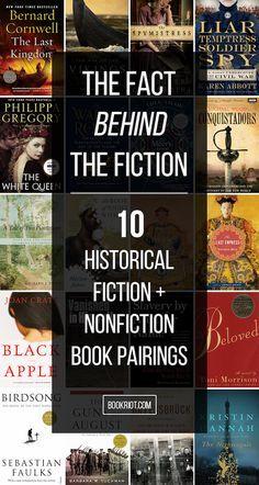 10 Nonfiction / Historical Fiction Book Pairings