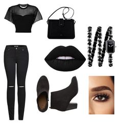 """""""Untitled #74"""" by tehmango on Polyvore featuring Alexander Wang, 2LUV and Chanel"""