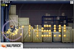 Jetpack Joyride makes Facebook move Make Facebook, Social Games, Android, Tea Lights, Candles, How To Make, Plays, Candle, Lights