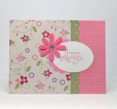 Summer flowers card by stampmontana - Cards and Paper Crafts at Splitcoaststampers