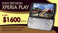 Sony Ericsson Xperia Play a sólo $1600 pesos