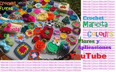Crochet Tutorial GRATIS en YouTube por Maricita Colours!!