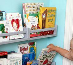 Ideas for baby nursery organization ideas spice racks Baby Nursery Organization, Toy Organization, Ikea Spice Rack, Spice Racks, Ikea Hacks, Creative Toy Storage, Ikea Book, Diy Christmas Gifts For Kids, Storage Hacks