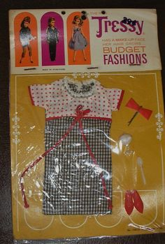 Vintage American Character Tressy Doll Outfit Fountain Fun 10912 in Package | eBay