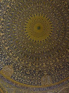 Imam Mosque Dome, Isfahan, Iran Architectural | nuran zorlu photograhy