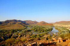 Free like a bird: Epupa Falls, Namibia