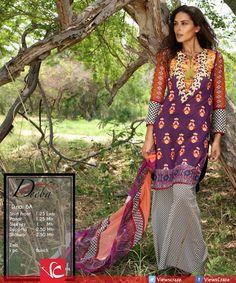 Deeba Premium Lawn Collection 2015 by Shariq Textiles