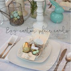 Stampin' Dolce: Egg-cellent Easter Table Decor