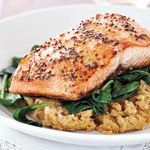 Miso Marintated Salmon