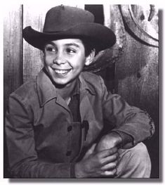 """Johnny Crawford...""""The Rifleman"""". One of my first loves, after Superman. Finally going for someone in my age range."""