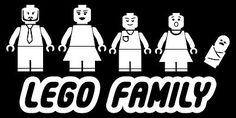 Lego Stick Family Vinyl ...