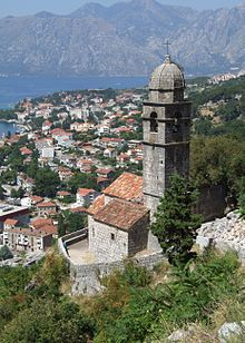 Church of Our Lady of Health in Kotor, Montenegro.