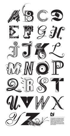 Lucas Young // Typography [alphabet]