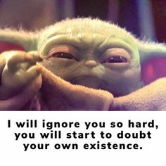 Badass Quotes, Funny Quotes, Funny Memes, Hilarious, Yoda Meme, Yoda Funny, Yoda Images, Star Wars Pictures, Funny Phrases
