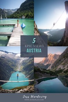 Austria is known for its strong mountain culture and stunning alpine scenery. But there's nothing quite like experiencing it first hand. Here are 5 wildly beautiful places in Austria you need to see to believe! Backpacking Europe, Best Places To Travel, Places To See, Places Around The World, Travel Around The World, Westerns, Dere, Austria Travel, Travel Inspiration