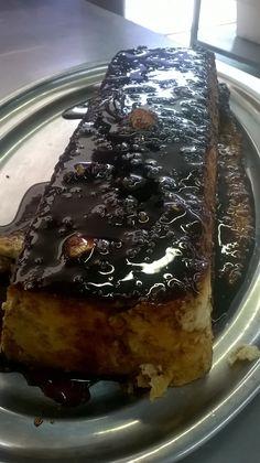Pudding de coca de Sant Juan