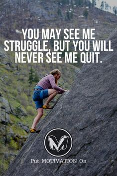 Never Quit. Follow all our motivational and inspirational quotes. Follow the link to Get our Motivational and Inspirational Apparel and Home Décor. #quote #quotes #qotd #quoteoftheday #motivation #inspiredaily #inspiration #entrepreneurship #goals #dreams #hustle #grind #successquotes #businessquotes #lifestyle #success #fitness #businessman #businessWoman #Inspirational