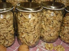 Nakládané ořechy za sucha