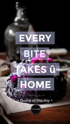 Blueberry Ube Moist Cake / Food Quote Cake Quotes, Food Quotes, Cake Captions, Ube, Blueberry Cake, Moist Cakes, Food Photography, Cupcakes, Kuchen