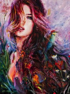 Paintings by Charmaine Olivia | Cuded★♡★