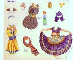 Paper dolls in national costumes by Nell Stolp Smock (6 of 14)