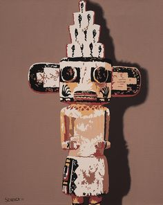 "Billy Schenck ""Honan Kachina"""