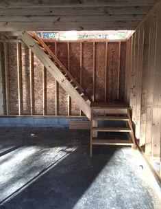 Our Bonus Room above our Garage Beneath My Heart Above Garage Apartment, Room Above Garage, Garage Apartment Plans, Garage Renovation, Garage Remodel, Garage Apartments, Garage Plans, Barn Plans, Garage Workbench