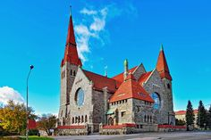 St John's (the cathedral), Tampere, Finland, / Lars sonck Lappland, Art Nouveau, Art Deco, Countries Around The World, Around The Worlds, Finland Country, Grave Monuments, Finland Travel, Church Architecture